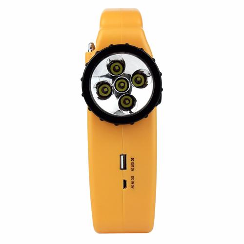 Solar LED Lantern With FM / AM Radio