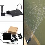 Water Pump Kit With Solar Powered