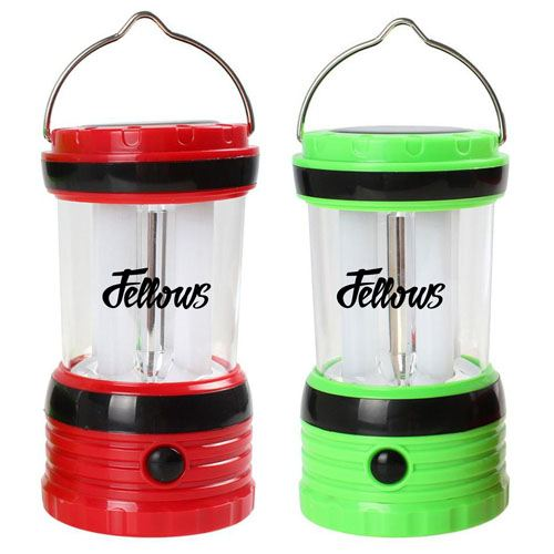Solar Rechargeable LED Camping Lantern Light