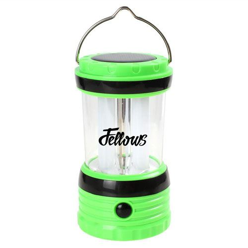 Solar Rechargeable LED Camping Lantern Light Image 2