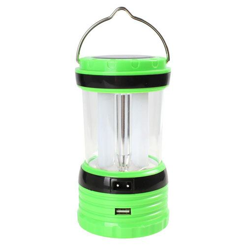Solar Rechargeable LED Camping Lantern Light Image 3