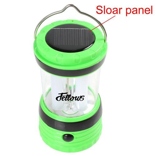 Solar Rechargeable LED Camping Lantern Light Image 6