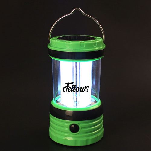 Solar Rechargeable LED Camping Lantern Light Image 7