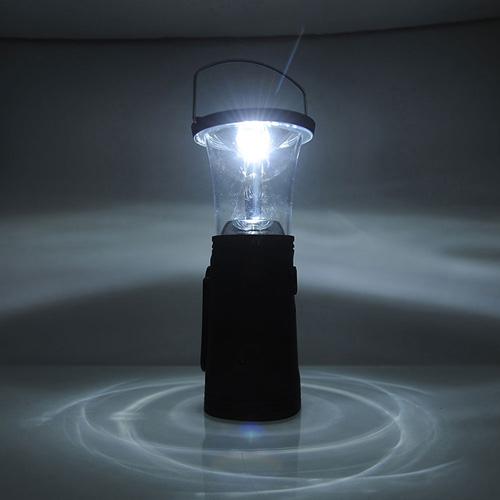 Solar Power 6 LED Hand-Up Lantern Lamp Image 3