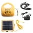 Portable Multifunctional  5 modes 4W 6V LED Solar tent light
