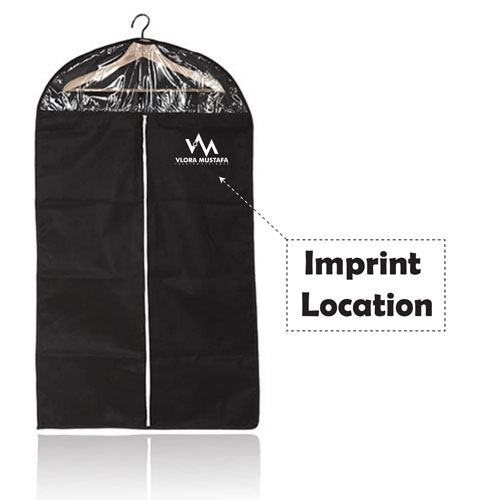 Breathable Dust Proof Garment Cover Bag Imprint Image