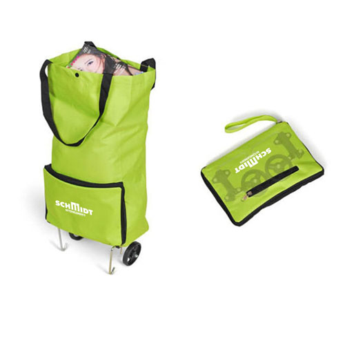 Portable Folding Wheel Trolley Bag Image 1