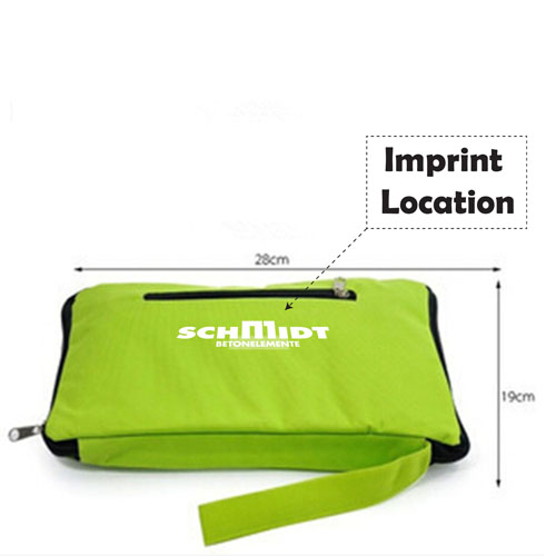 Portable Folding Wheel Trolley Bag Imprint Image