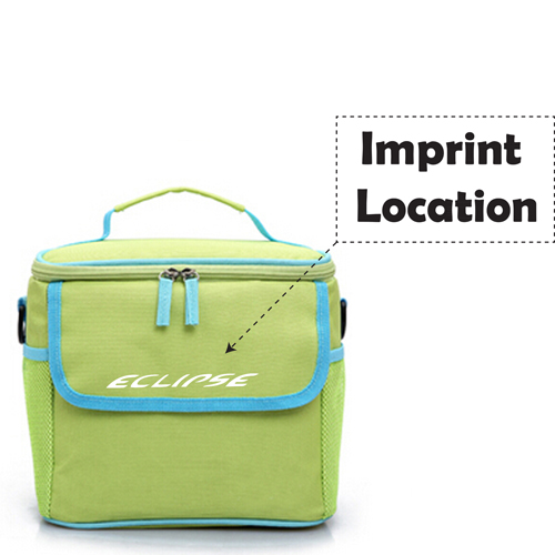 Insulated Outdoor Food Storage Cooler Bag Imprint Image