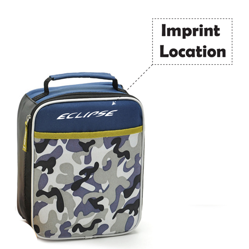 Insulation Nylon Cooler Lunch Bags For Outdoor Imprint Image