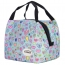 Insulated Portable Canvas Thermal Food Lunch Bag Image 1