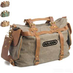 Travel Wild Leather Vintage Style Canvas Tote Bag