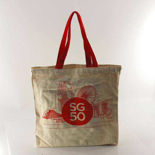 Canvas Cotton Shopping Bag Image 2