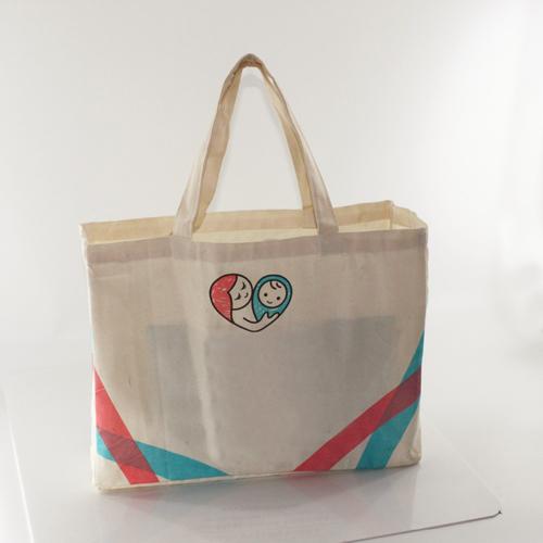 Canvas Cotton Shopping Bag Image 3