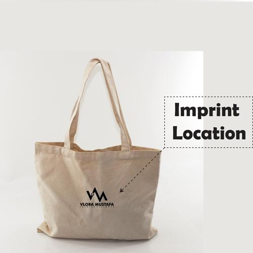 Canvas Cotton Shopping Bag Imprint Image
