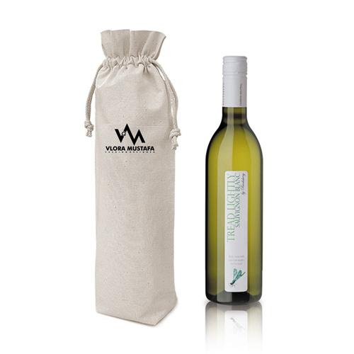 Cotton Alcohol Bottle Bag