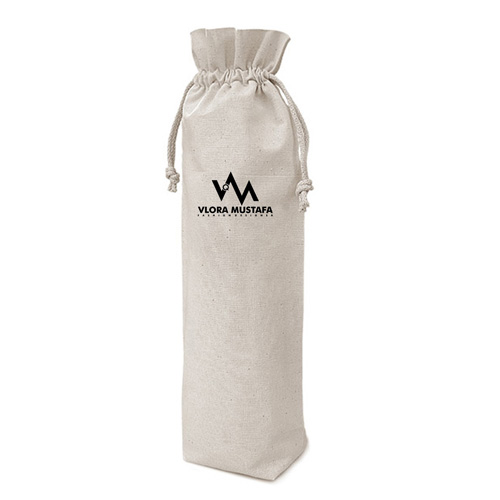 Cotton Alcohol Bottle Bag Image 1