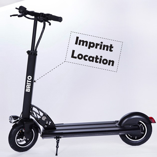 Foldable 10 Inch Electric Scooter Imprint Image