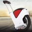 Smart Single Wheel Electric Bike With Handrail