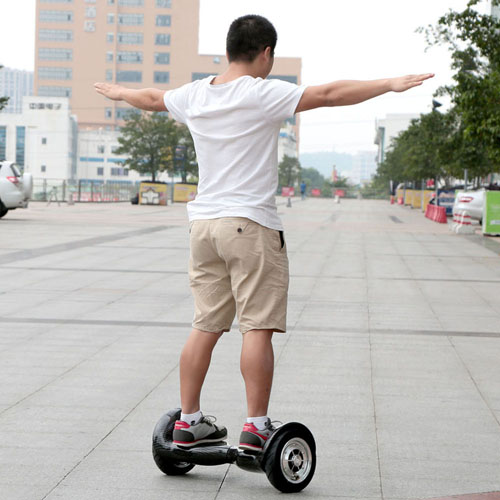 Professional 10 Inch 2 Wheel Electric Standing Hoverboard Image 6
