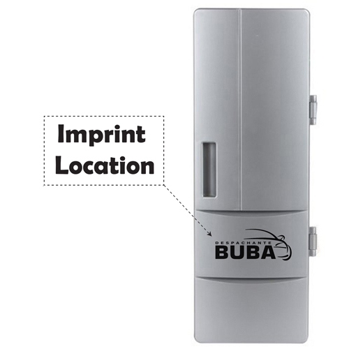 Mini USB Fridge Cooler And Warmer Imprint Image