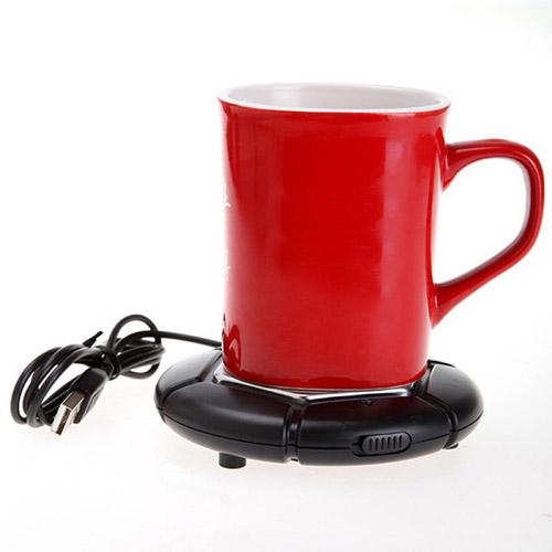 USB Portable Mug Drink Heater Warmer Pad Image 1