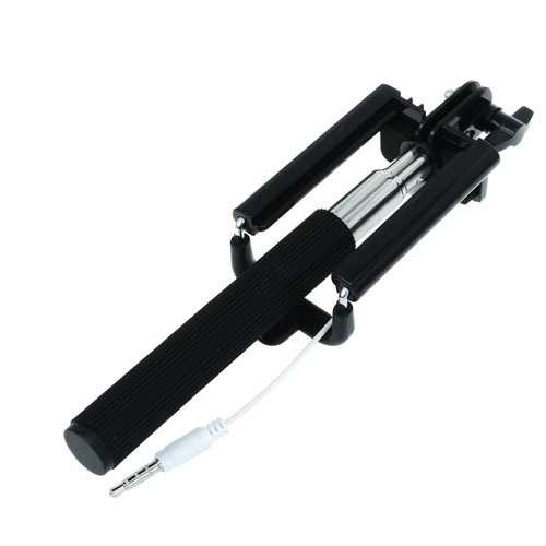 Extendable 16-50cm Shutte Selfie Stick Image 2