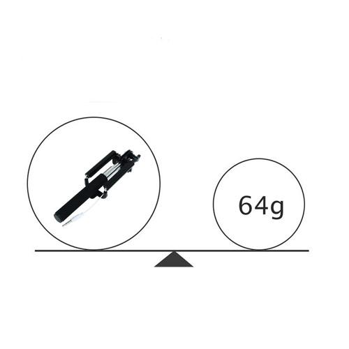 Extendable 16-50cm Shutte Selfie Stick Image 5