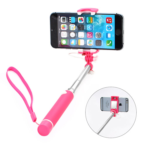 Standard Mini Wired Control Selfie Stick Monopod