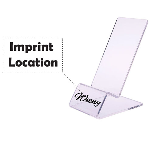 Clear Mount Holder Display Stand Imprint Image