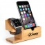 Bamboo Watch Mobile Phone Display Holder Image 1