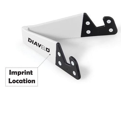 Foldable Cell Phone Support Imprint Image