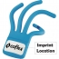 Freddy Flexible Finger Mobile Phone Holder Imprint Image