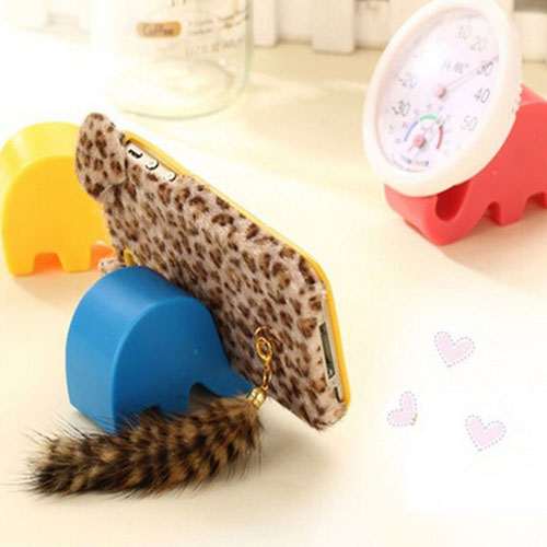 Fashion Mini Elephant Stand Holder Image 1