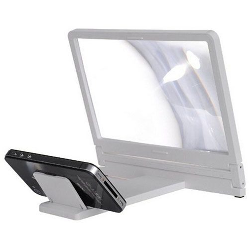 Screen Magnifier Mobile Phone Stand Holder Image 3