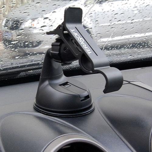 Car Mount Cradle Dashboard Phone Holder Image 4