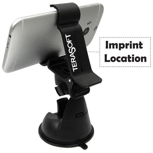 Car Mount Cradle Dashboard Phone Holder Imprint Image