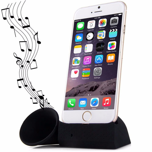 Silicone Horn Mobile Phone Stand Holder