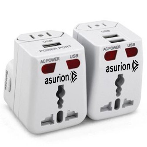 Travel Adapter USB Charger Converter Plug Image 2