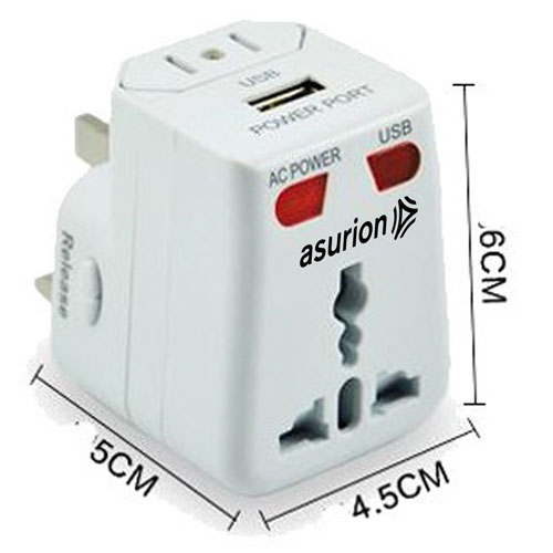 Travel Adapter USB Charger Converter Plug Image 4
