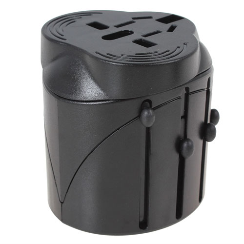 4 in 1 USB World Travel Adapter Converter Image 1