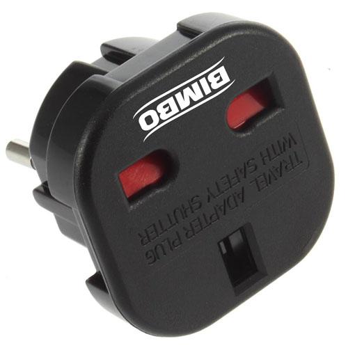 Travel Plug Adapter UK AU EU to US Converter