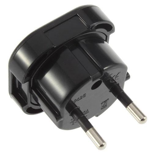 Travel Plug Adapter UK AU EU to US Converter Image 2