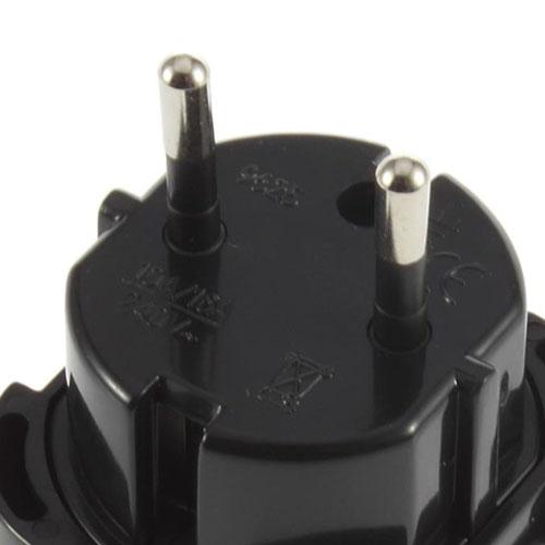 Travel Plug Adapter UK AU EU to US Converter Image 4