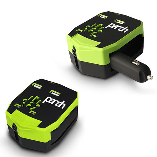 Car Charger All In One International Travel Adapter Image 2