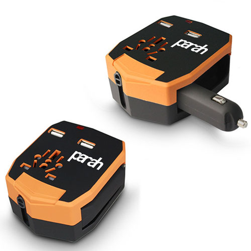 Car Charger All In One International Travel Adapter Image 4