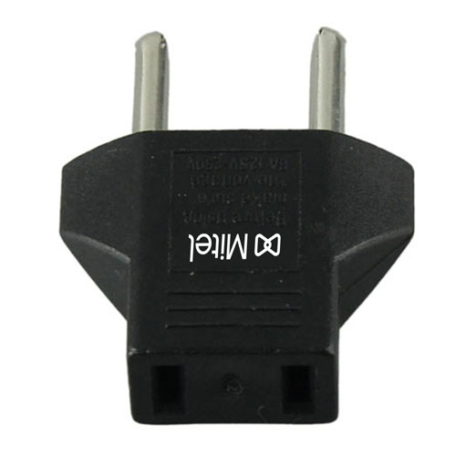 Portable AC Plug Travel Adapter Converter Image 2