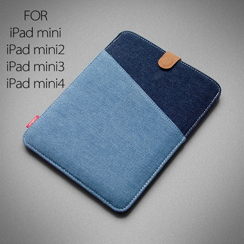 7.9 Inch Denim Tablet Case Image 1