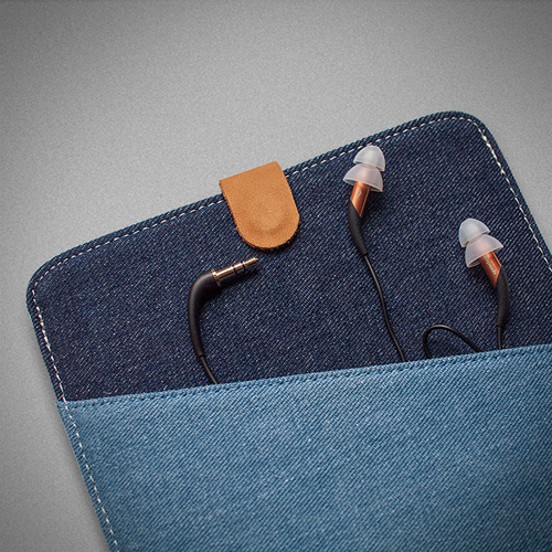7.9 Inch Denim Tablet Case Image 2