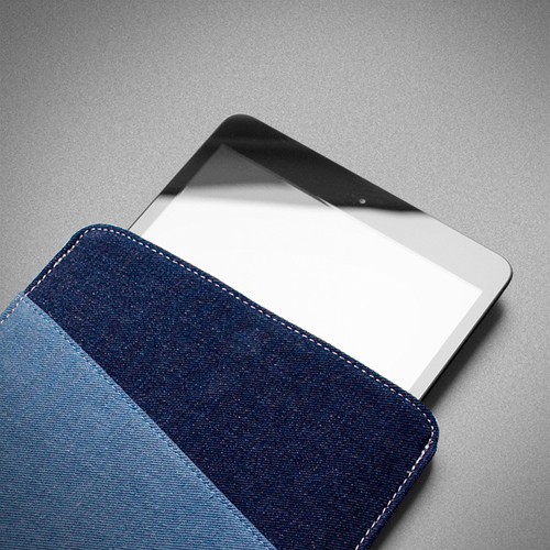 7.9 Inch Denim Tablet Case Image 3